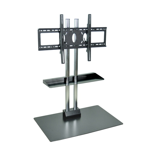 H. Wilson Universal 45-inch Flat Panel Stand with Shelf